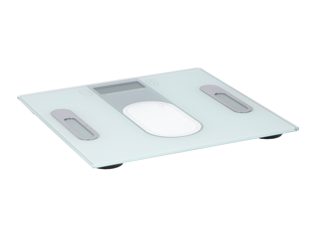 Ηλεκτρονική Ζυγαριά για Μέτρηση Σωματικού Βάρους, Λίπους και Ποσοστού Νερού με Φ μπάνιο   ζυγαριές μπάνιου