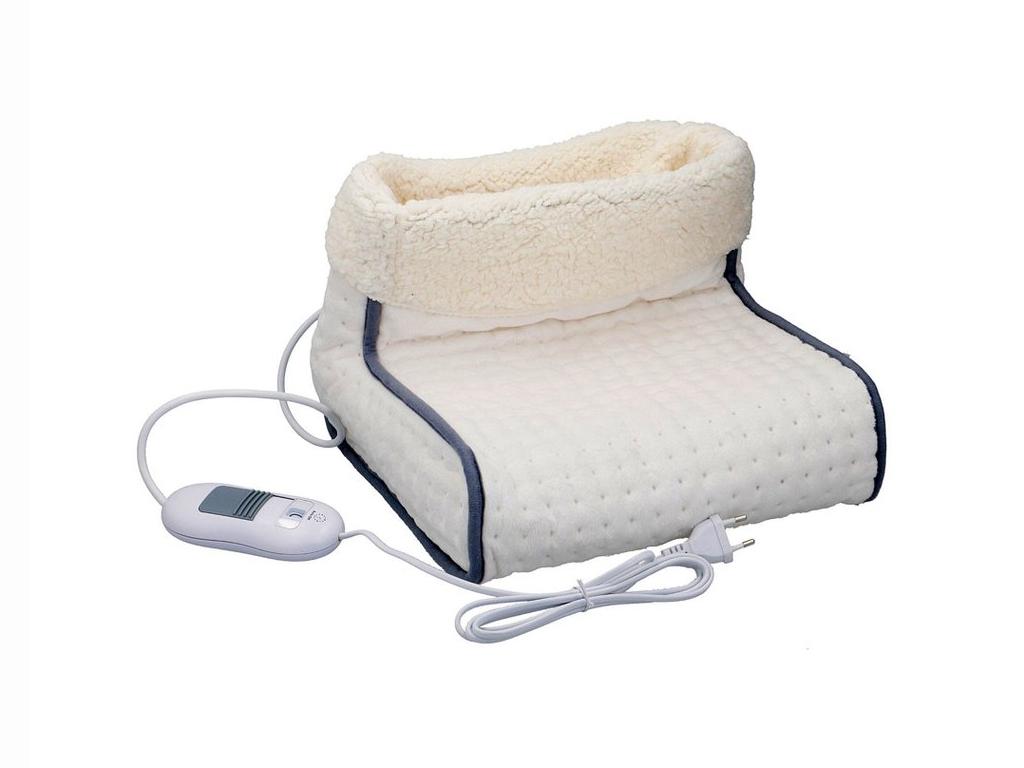 Ηλεκτρική Θερμοφόρα ποδιών 100W σε Λευκό χρώμα, 30x30x23cm, 06245 - Cb θέρμανση και κλιματισμός   ηλεκτρικές κουβέρτες   θερμοφόρες