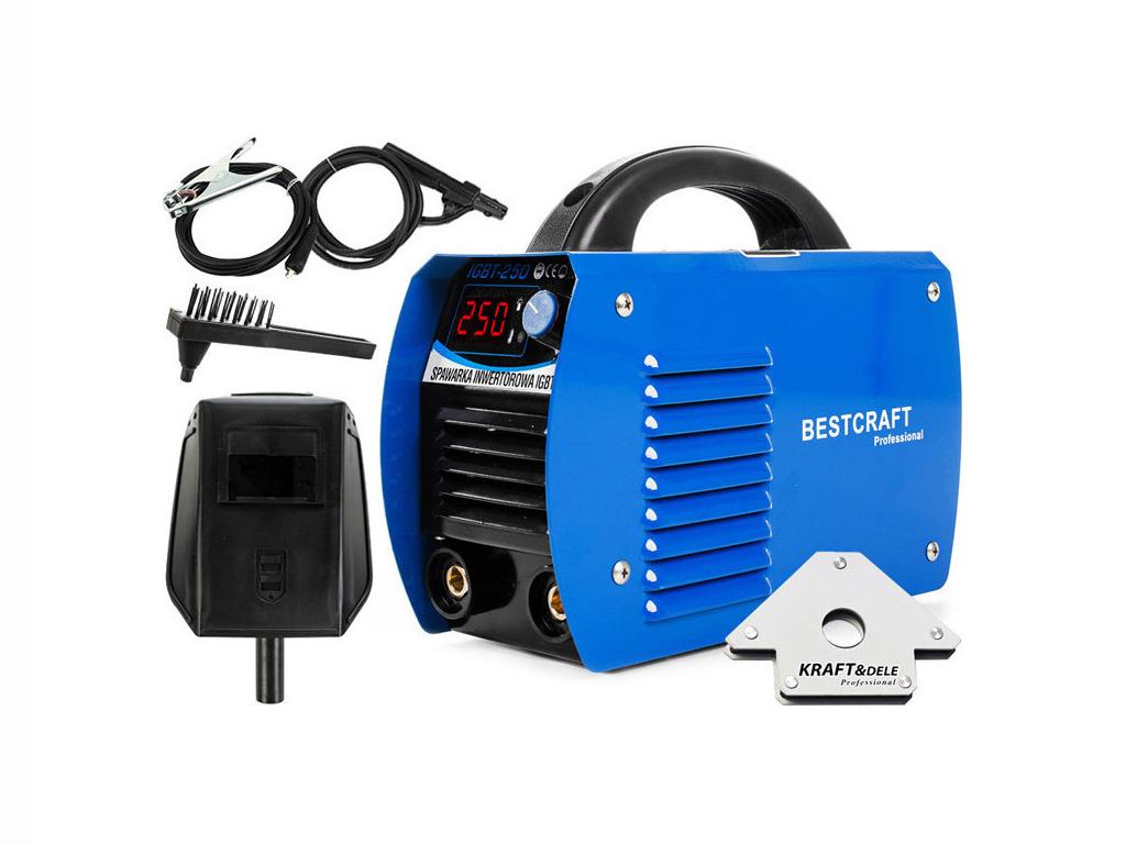 Ηλεκτροκόλληση Inverter MMA 250Α Συσκευή Ηλεκτροσυγκόλλησης, Kraft&Dele EC-1845 - Kraft&Dele