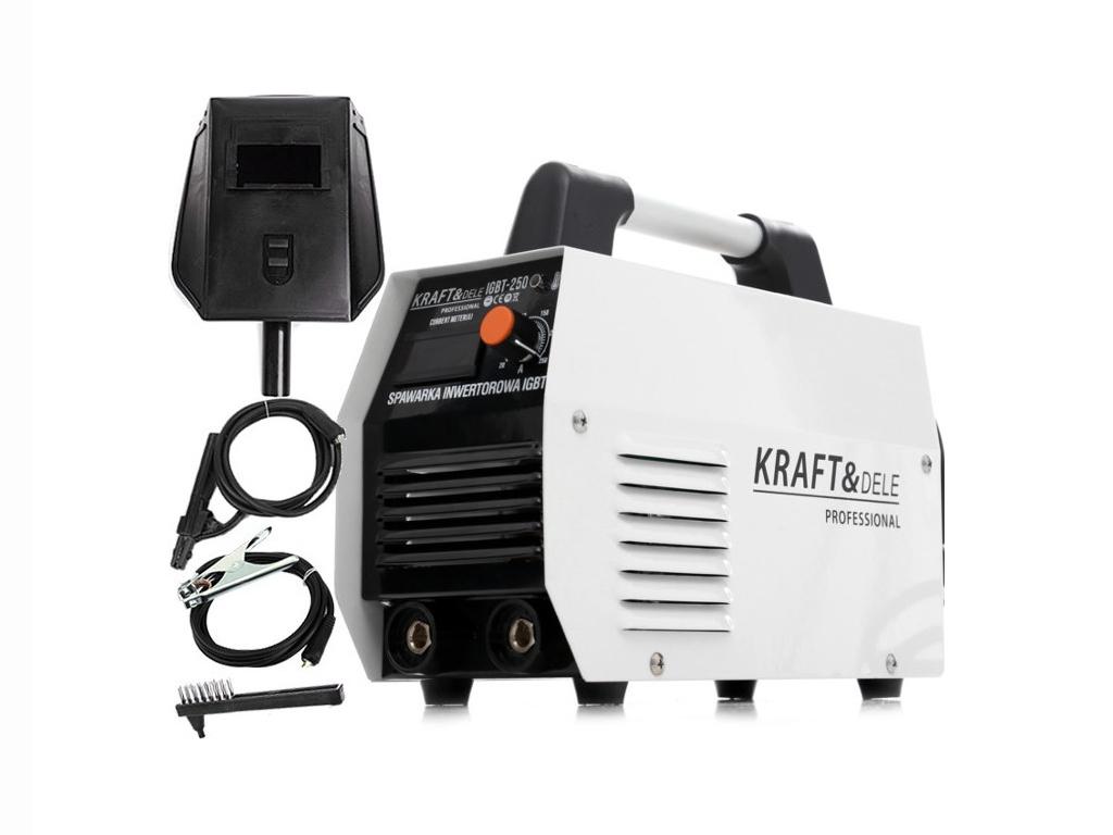 Ηλεκτροκόλληση Inverter MMA 250Α Συσκευή Ηλεκτροσυγκόλλησης, Kraft&Dele KD-1841 - Kraft&Dele