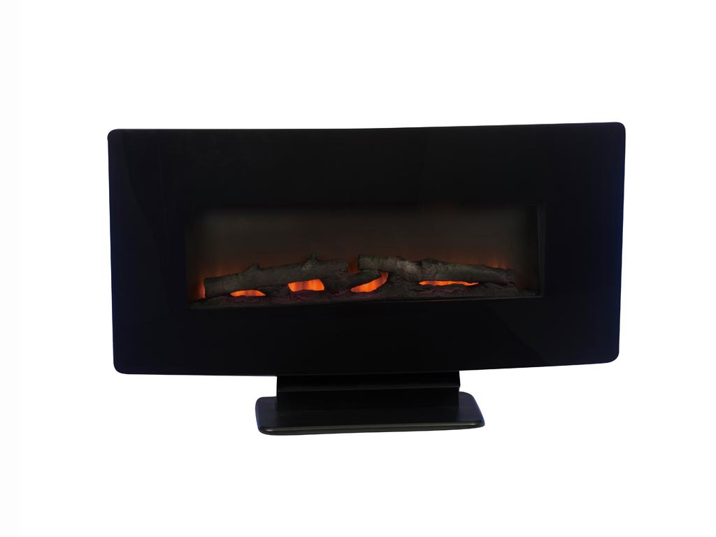 Ηλεκτρικό Τζάκι Δαπέδου ή Τοίχου 1400W με εφέ Φλόγας σε διάφορα χρώματα και τηλεχειριστήριο, Classic Fire 01395 - Classic Fire