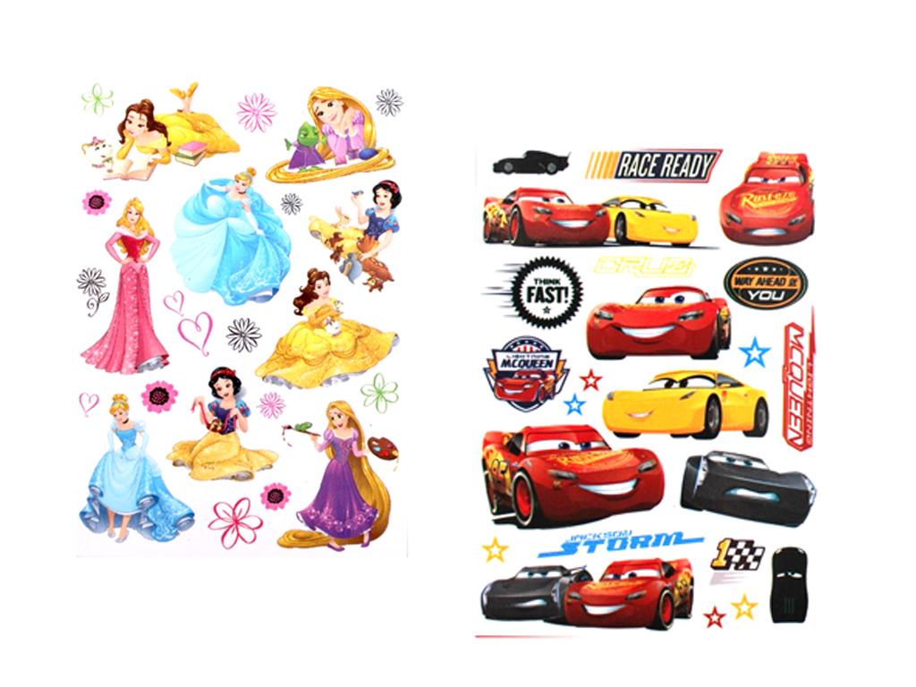 Disney σετ αυτοκόλλητα Τοίχου 24 τεμαχιων , σε 3 διαφορετικά Disney 31795 - Disney