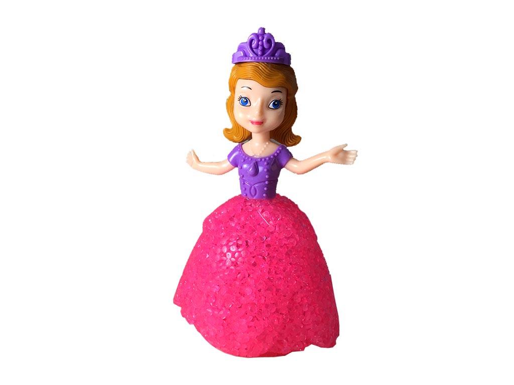 1de005463d64 Διακοσμητικό Φωτιστικό LED Πριγκίπισσα Με Φούξια Φόρεμα