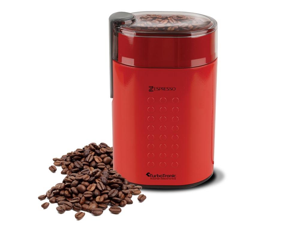 Ηλεκτρικός Μύλος Άλεσης Καφέ, Ξηρών Καρπών και Μπαχαρικών 200W, Turbotronic TT-C ηλεκτρικές οικιακές συσκευές   μύλοι άλεσης