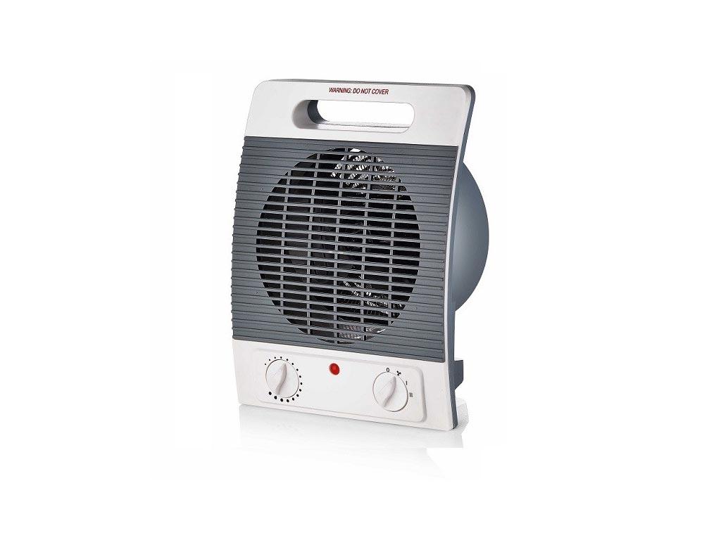 Αερόθερμο Δαπέδου 2 Επιπέδων Θέρμανσης max2000W με Λαβή μεταφοράς, Muhler MFH-2057 - Muhler