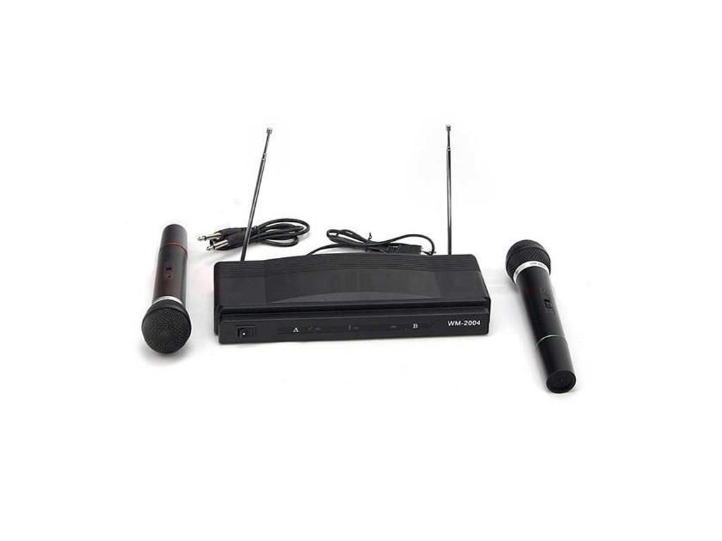 Σύστημα Καραόκε Karaoke με 2 μικρόφωνα και ασύρματο δέκτη με ενισχυμένη λήψη 2 κ εκδηλώσεις και γιορτές   καραόκε
