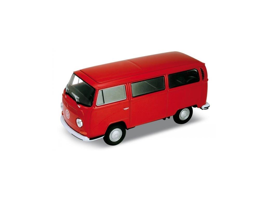 Μεταλλικό Αυτοκίνητο Βανάκι volkswagen van Μινιατούρα VW T2 Bus 1972 σε κλίμακα  παιχνίδια   μινιατούρες