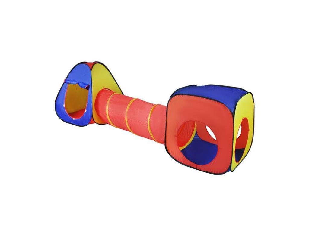 Αναδιπλούμενο παιδικό σπιτάκι σκηνή 3 σε 1 συνολικού μήκους 283cm αποτελούμενο α μωρά και παιδιά   παιδική διακόσμηση