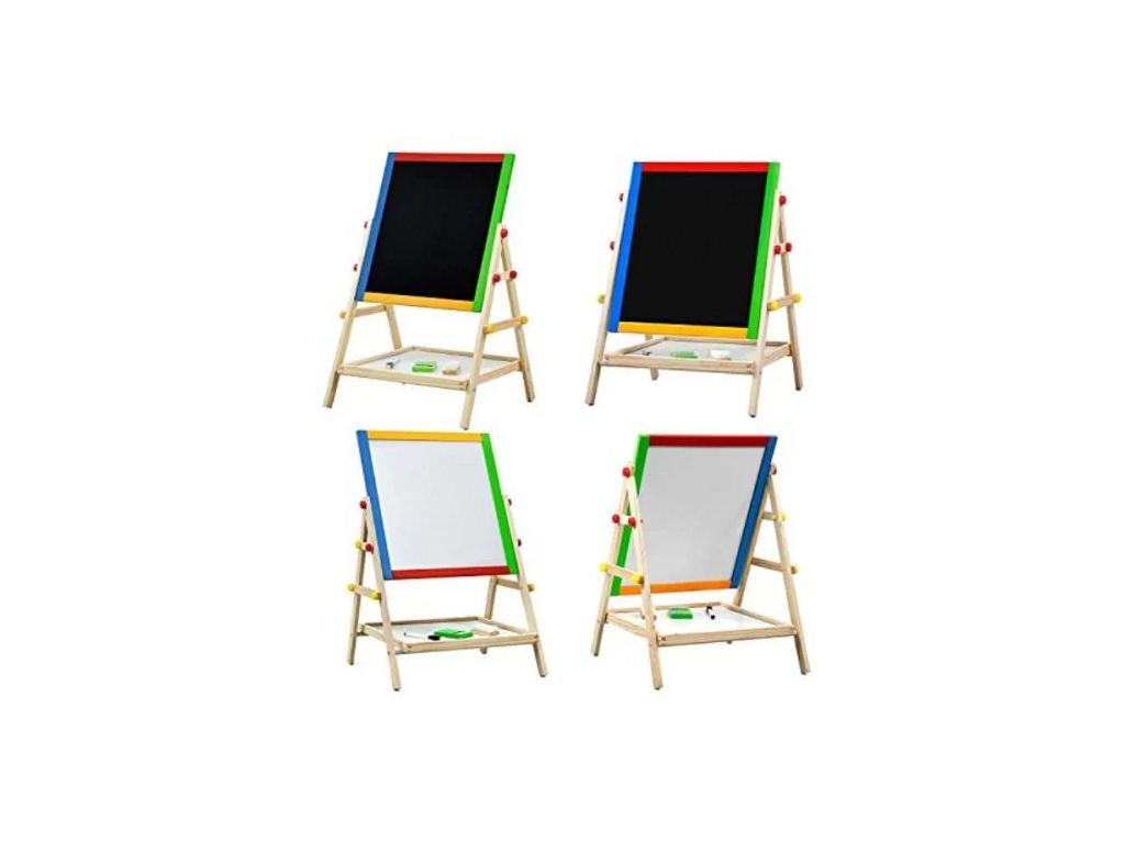 Παιδικός Μαγνητικός Πίνακας Ζωγραφικής Διπλής Όψης με Αποθηκευτικό Χώρο - Foldab παιχνίδια   εκπαιδευτικά παιχνίδια