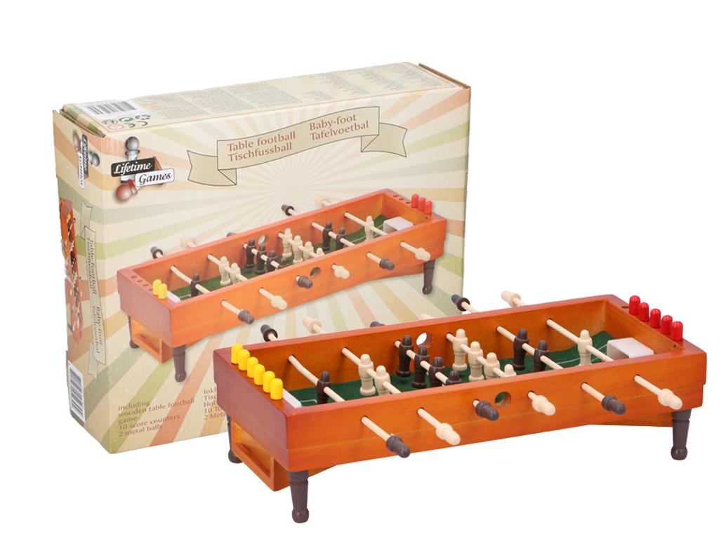 Επιτραπέζιο Ξύλινο Ποδοσφαιράκι με 14 παίκτες και 2 μεταλλικές μπάλες, 24x29x8,3 παιχνίδια   άλλα παιχνίδια