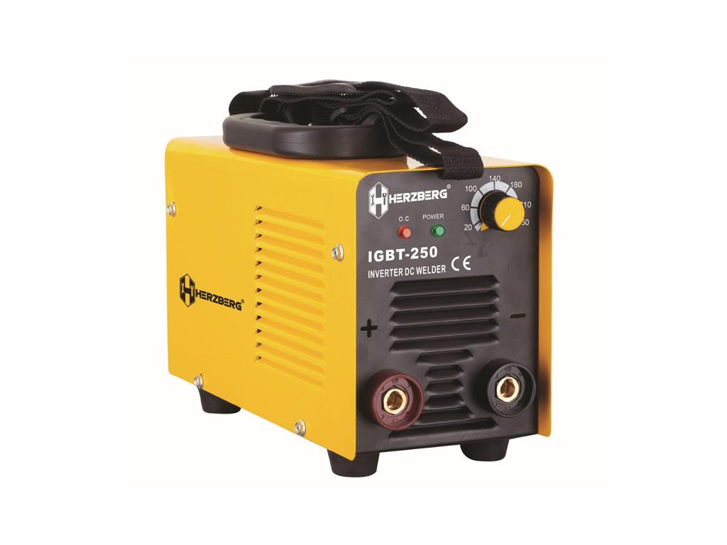 Ηλεκτροκόλληση Inverter IGBT-250 Συσκευή Ηλεκτροσυγκόλλησης, Herzberg HG-6013 - Herzberg