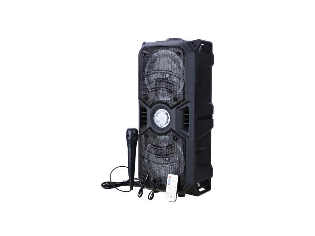 Φορητό Ασύρματο Επαναφορτιζόμενο Ηχείο Bluetooth, Stereo Hi-Fi Bass Karaoke, Με  ηλεκτρονικά   ήχος