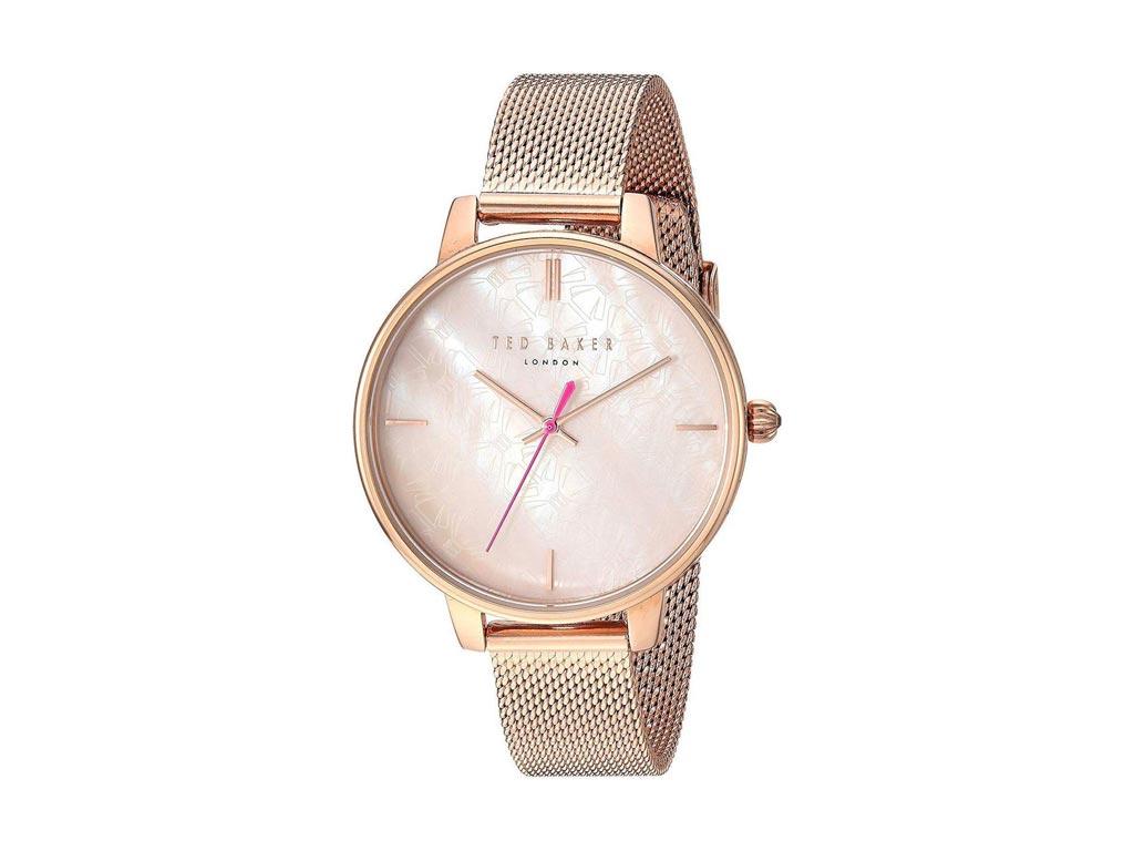 Ted Baker Γυναικείο Ρολόι χειρός με Rose Gold καντράν, Rose Gold Κάσα, Rose Gold ρολόγια χειρός   γυναικεία ρολόγια χειρός