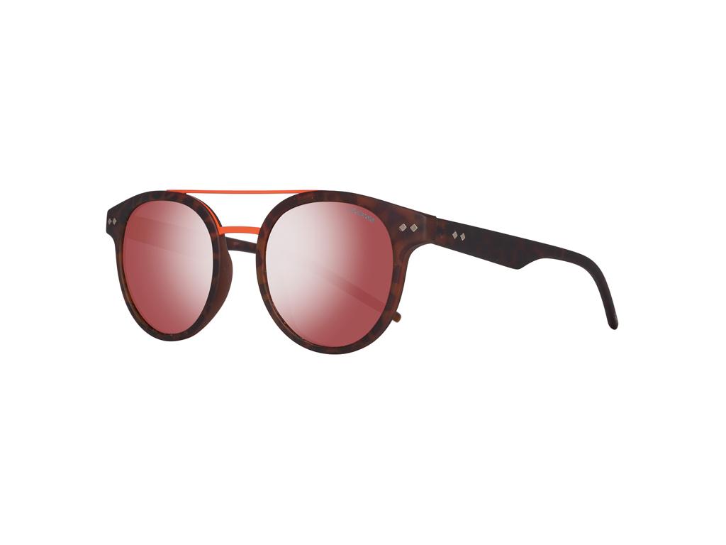 Polaroid Unisex Γυαλιά Ηλίου με κοκαλινο σκελετό σε χρώμα Ταρταρούγα, Καθρέφτη Φ γυαλιά ηλίου   unisex γυαλιά ηλίου