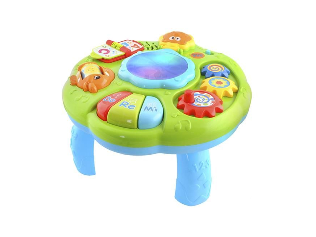 Παιδικό μουσικό τραπέζι δραστηριοτήτων με διάφορους ήχους και τραγούδια, για ηλικίες από 18 μηνών και άνω. - Cb