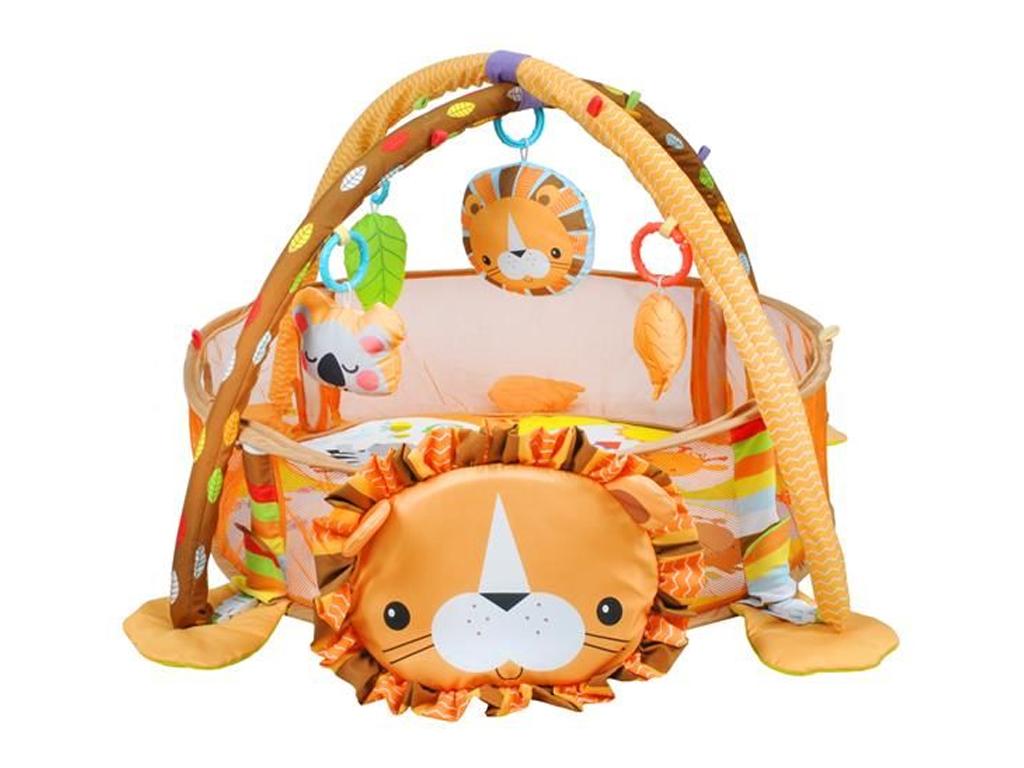 Εκπαιδευτικό Παιδικό Γυμναστήριο και Πάρκο για μωρά με θέμα Λιοντάρι και 30 μικρ μωρά και παιδιά   χαλάρωση και διασκέδαση