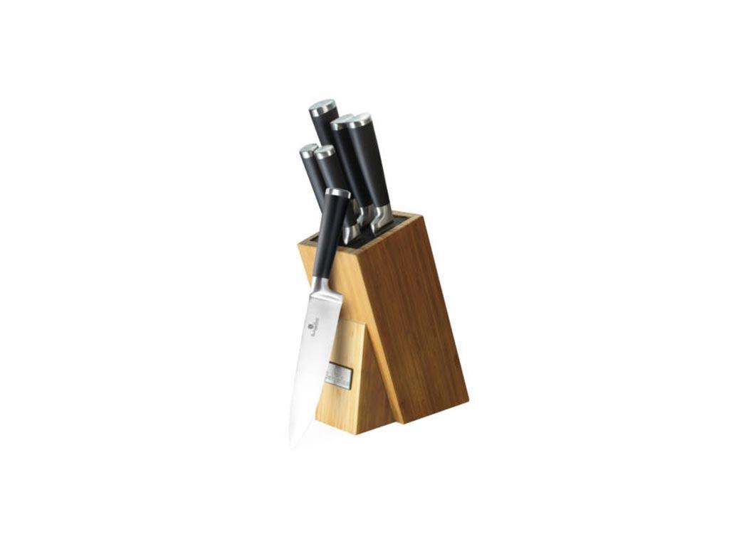 Berlinger Haus Σετ Μαχαίρια Κουζίνας 6 τεμάχια Αντιβακτηριδιακά Αντικολλητικά απ αξεσουάρ και εργαλεία κουζίνας   μαχαίρια κουζίνας