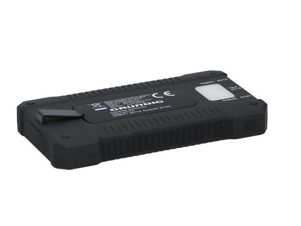 Grundig Power Bank Ηλιακή Μπαταρία Φορτιστής Υψηλής Ισχύος 6.000 mAh & Φωτιστικό τηλεφωνία και tablets   power bank
