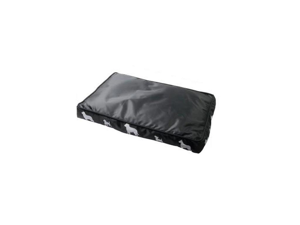 Μαλακό Κρεβάτι για Σκύλους, Γάτες και άλλα Κατοικίδια σε 4 χρώματα, 40x60x7cm, Pet bed Pet Comfort Μαύρο - Pet Comfort