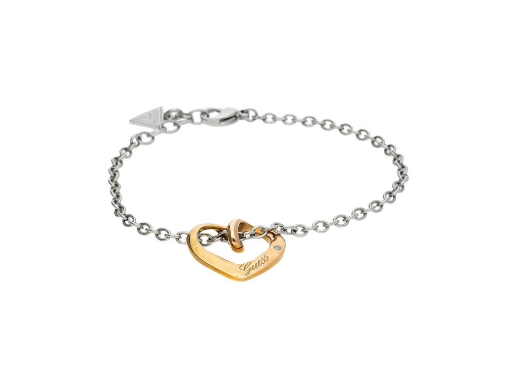 Guess USB11213 Γυναικείο Κόσμημα Κολιέ 20cm από Ανοξείδωτο Ατσάλι με Ασημί αλυσί γυναικεία αξεσουάρ και κοσμήματα   γυναικεία κολιέ