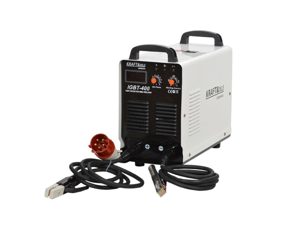 Ηλεκτροκόλληση Inverter MMA 400A LCD 380V Συσκευή Ηλεκτροσυγκόλλησης, Kraft&Dele KD-839 - Kraft&Dele