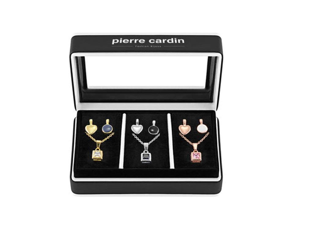 Pierre Cardin Gift Set PXX0209 Σετ συλλογή Κοσμημάτων από κράμα χρυσού, ρόδιο, μ γυναικεία αξεσουάρ και κοσμήματα   γυναικεία κολιέ