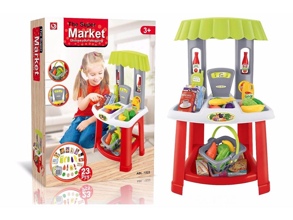 Παιδικό Super Market με Αξεσουάρ για ηλικίες 3 και άνω - Cb παιχνίδια   παίζοντας τον μεγαλύτερο