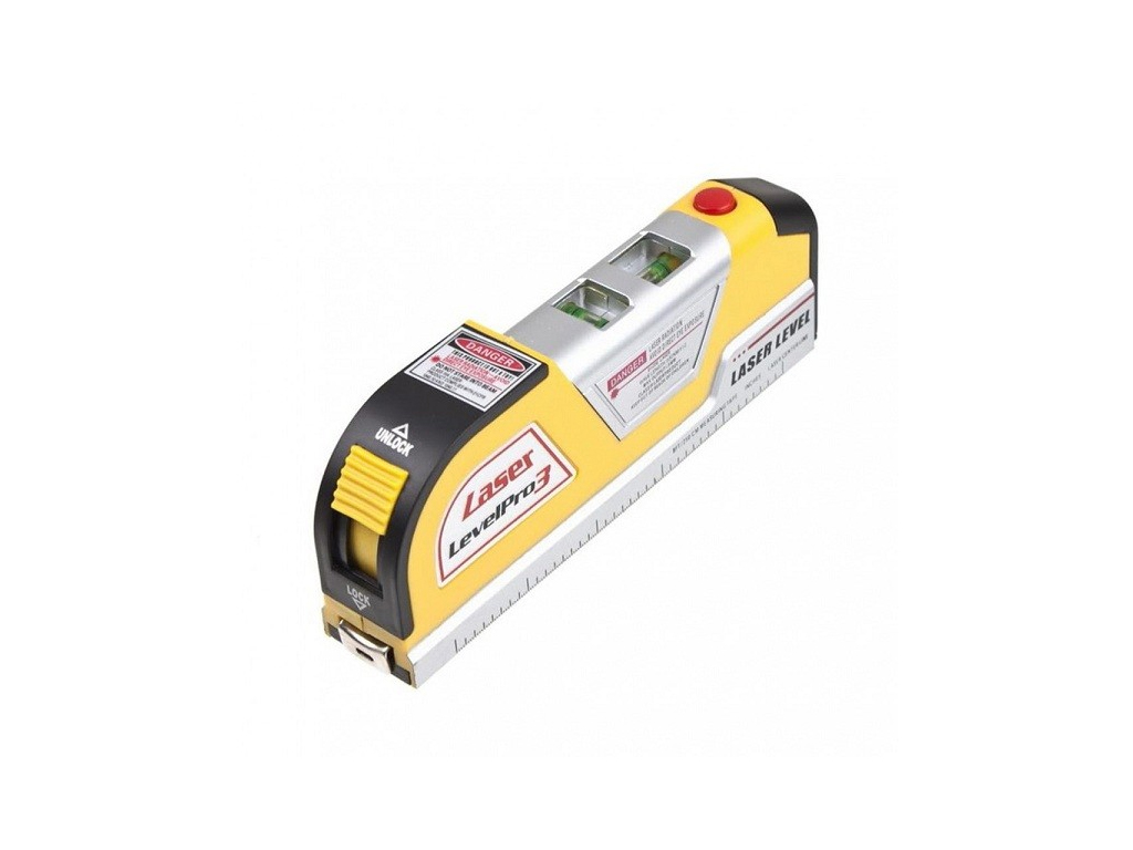 Μέτρο - Αλφάδι με Γραμμή Laser και Βεντούζα 3 σε 1 Level Pro 3 MWS987 - Media Wa εργαλεία για μαστορέματα   ηλεκτρικά εργαλεία