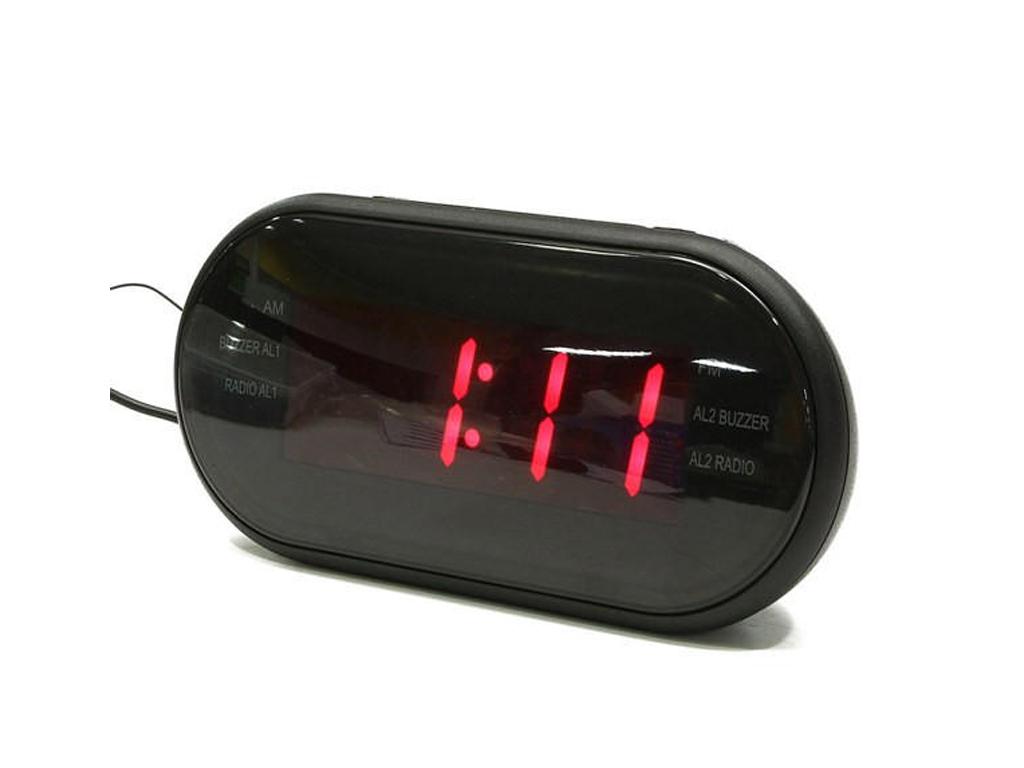 Ψηφιακό Ρολόι Ξυπνητήρι, LCD οθόνη VST-902 - Cb