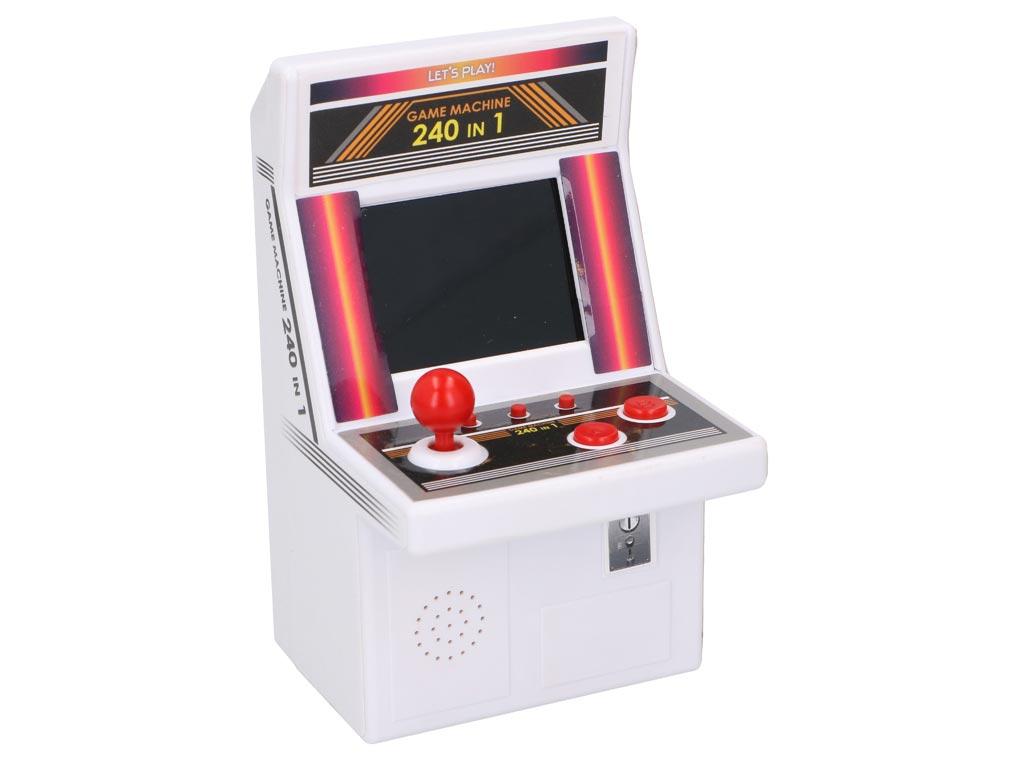 Παιχνιδοκονσόλα Mini Arcade Machine για Ατελείωτες ώρες gaming με 240 Παιχνίδια  παιχνίδια   παιχνιδοκονσόλες και αξεσουάρ gaming