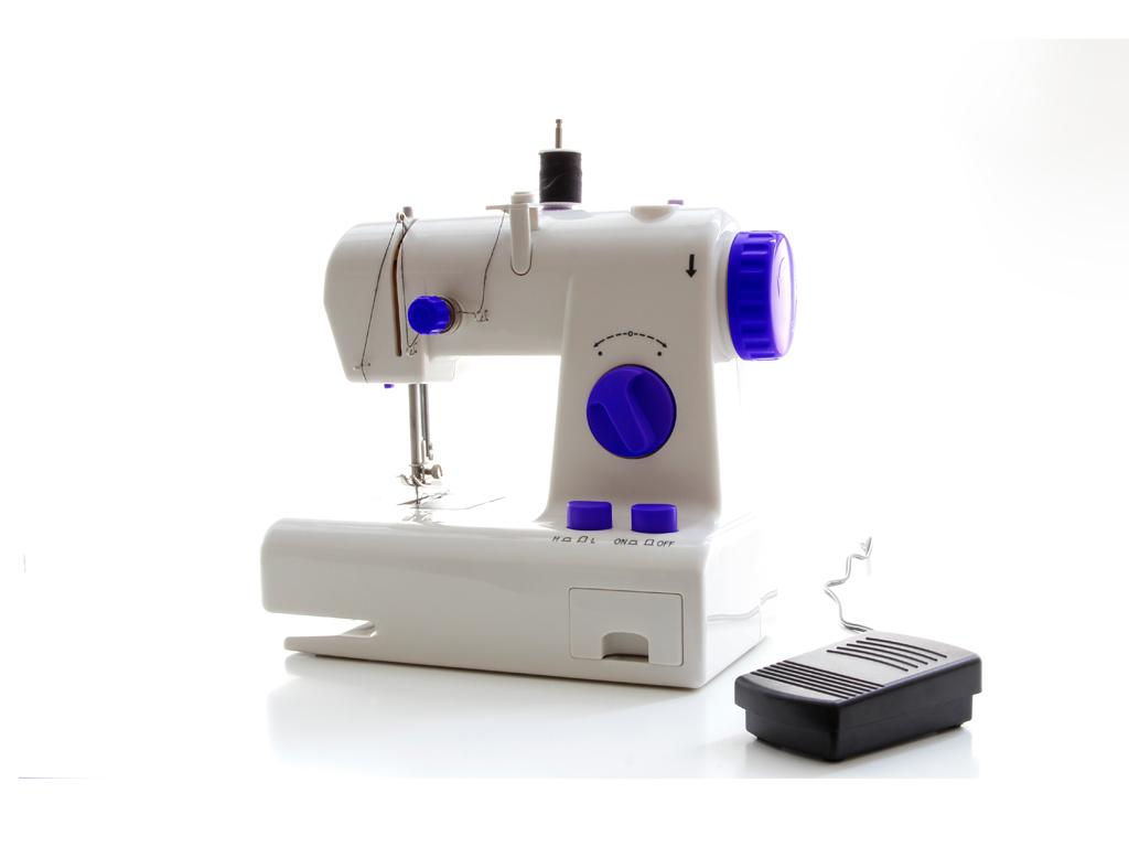 Ραπτομηχανή Sewing Machine με λειτουργία αντίστροφης ραφής, ενσωματομένο φωτάκι και αποθηκευτικό χώρο, διαστάσεων 21.7x12x20.5 εκατοστά, Jocca 6582 - JOCCA home & life