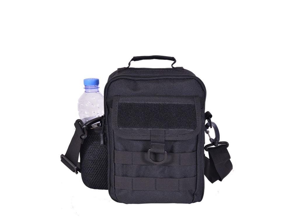 Ανδρικό τσαντάκι ώμου 19x10x27cm με θήκη για μπουκάλι, σε 4 Χρώματα και Σχέδια Μ αξεσούαρ   τσάντες και πορτοφόλια