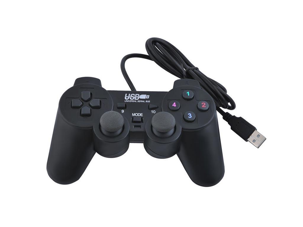 Ενσύρματο Χειριστήριο USB Gamepad με δόνηση Win 98/Me / XP2000Vista7 - Cb παιχνίδια   παιχνιδοκονσόλες και αξεσουάρ gaming