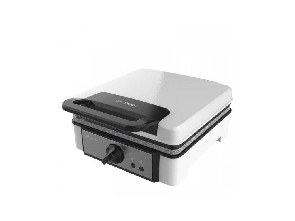Cecotec Waffle Maker Συσκευή Παρασκευής Βάφλας Βαφλιέρα 1200W, Fun Gofrestone Do ηλεκτρικές οικιακές συσκευές   παρασκευαστές βάφλας