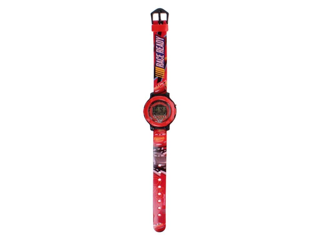 Παιδικό Ψηφιακό Ρολόι με θέμα Cars σε Κόκκινο χρώμα - Cars ρολόγια χειρός   παιδικά ρολόγια χειρός