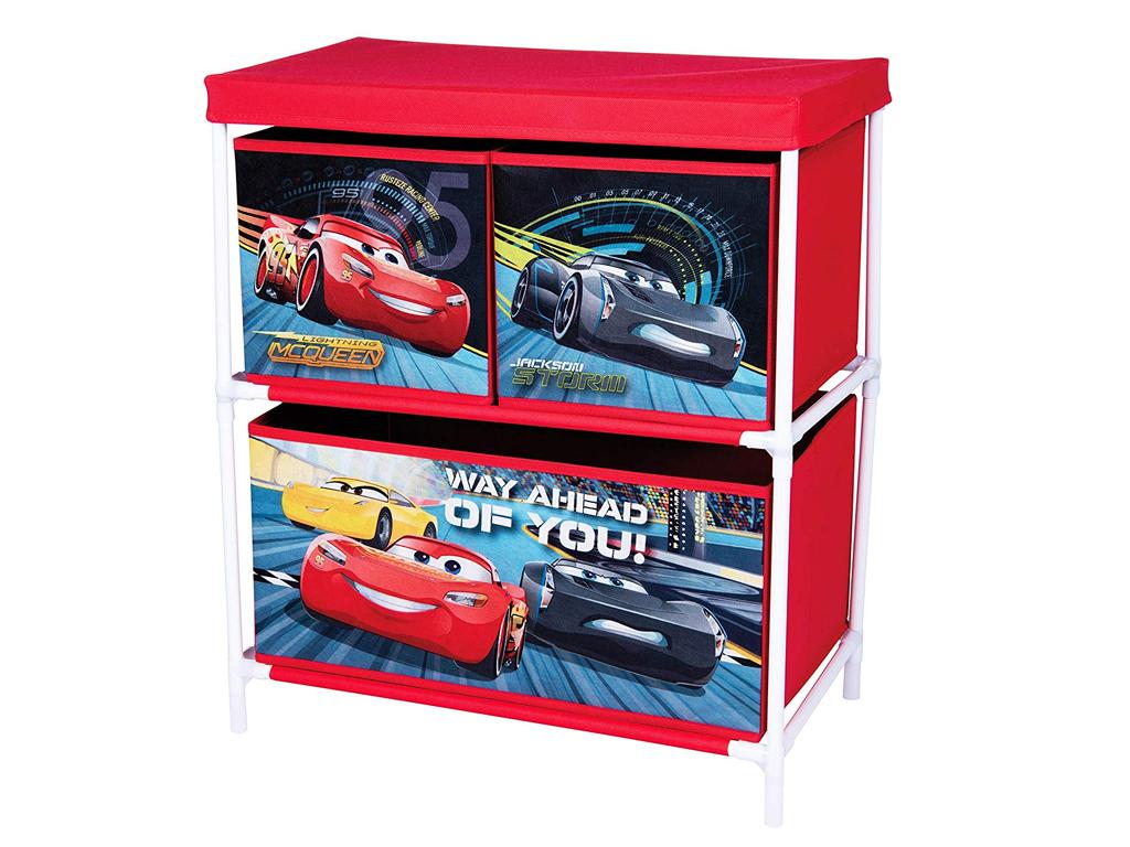 Disney Cars Mcqueen Υφασμάτινο Ντουλάπι Συρτάρι Αποθήκευσης παιχνιδιών και Αντικ μωρά και παιδιά   παιδική διακόσμηση