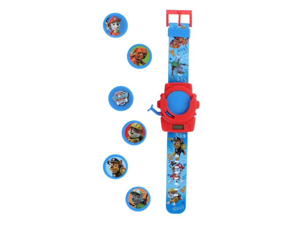 Παιδικό Ψηφιακό Ρολόι με θέμα Paw Patrol σε Μπλε χρώμα με στόχους - Nickelodeon ρολόγια χειρός   παιδικά ρολόγια χειρός