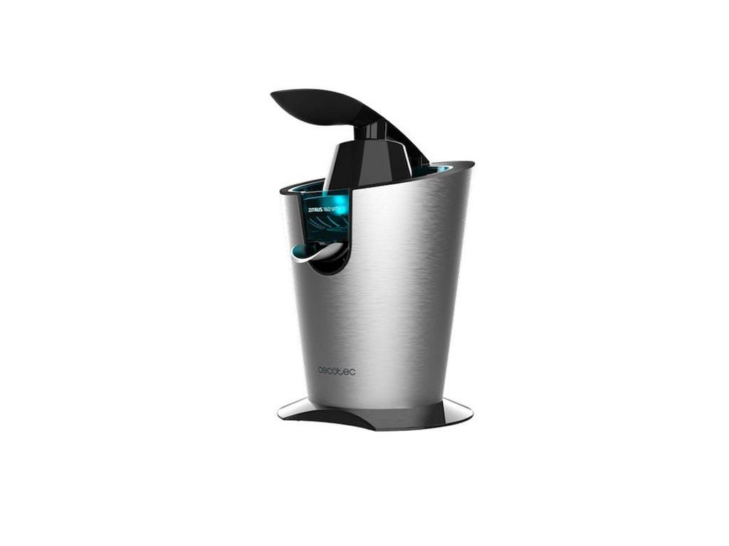Ηλεκτρικός Ποροκαλοστίφτης Λεμονοστίφτης Cecotec Zitrus Adjust 160 Vita Inox 160W, CEC-04093 - Cecotec