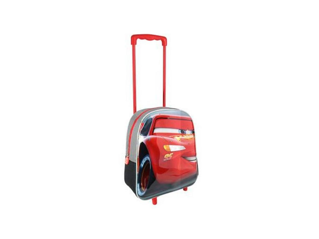 997a5471542 Σχολική Παιδική Τσάντα με Φερμουάρ, Λαβή και Ροδάκια με θέμα Cars,  25x31x10cm | Σχολικές τσάντες - hellas-tech.gr