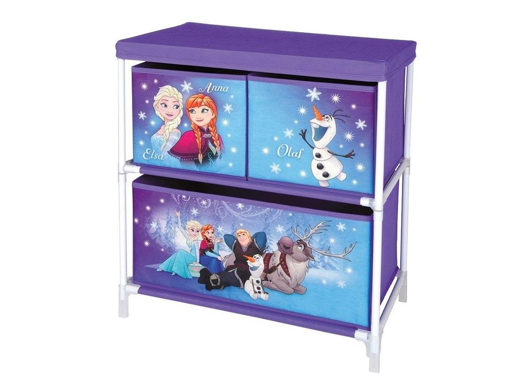 Disney Frozen Ντουλάπι Αποθήκευσης παιχνιδιών και Αντικειμένων με 3 Συρτάρια, 60 μωρά και παιδιά   παιδική διακόσμηση