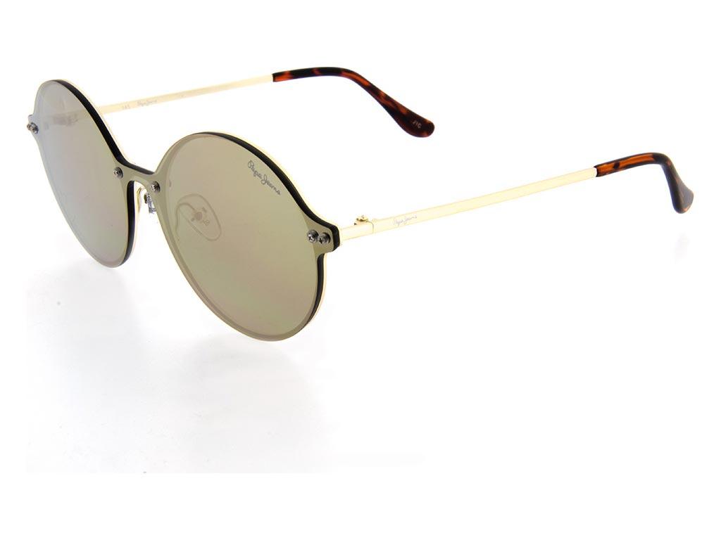 3de3a46927 Pepe Jeans Unisex Γυαλιά Ηλίου με μεταλλικό Χρυσό σκελετό