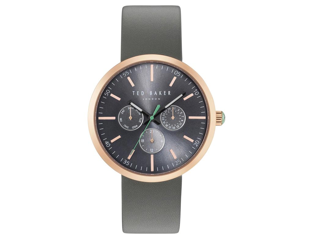 Ted Baker Ανδρικό ρολόι χειρός 42mm με Μαύρο καντράν, Κάσα σε χρυσό χρώμα και Δε ρολόγια χειρός   ανδρικά ρολόγια χειρός