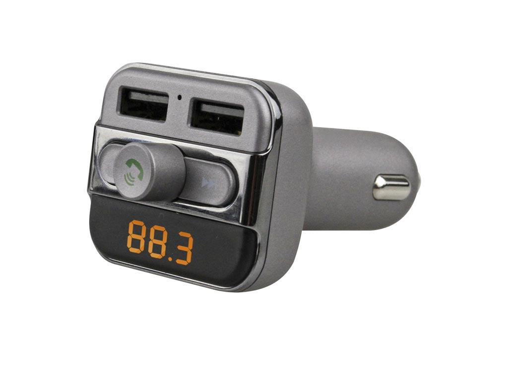Sogo Πομπός Αυτοκινήτου FM Transmitter, MP3 player, Φορτιστής για Smartphones με gps και είδη αυτοκινήτου   handsfree και bluetooth για το αυτοκίνητο