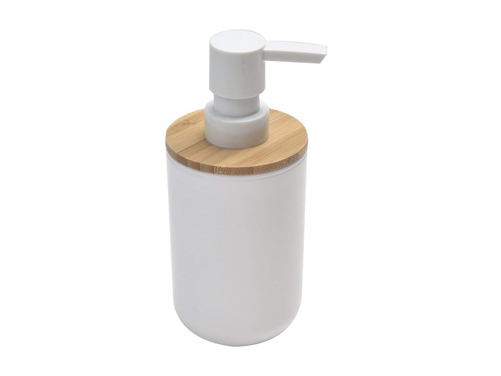 Διανεμητής σαπουνιού Dispenser, Δοχείο για κρεμοσάπουνο με αντλία σε Λευκό χρώμα μπάνιο   αξεσουάρ μπάνιου