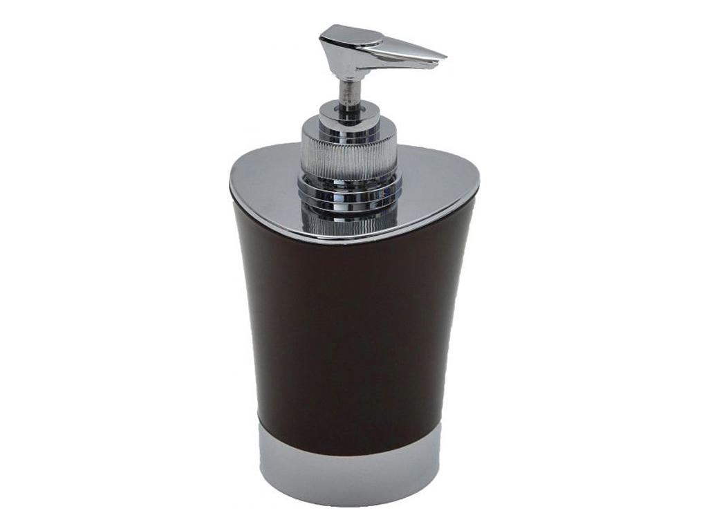 Διανεμητής σαπουνιού Dispenser, Δοχείο για κρεμοσάπουνο με αντλία σε Καφέ χρώμα  μπάνιο   αξεσουάρ μπάνιου