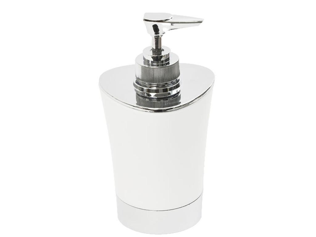 Διανεμητής σαπουνιο Dispenser, Δοχείο για κρεμοσάπουνο με αντλία σε Λευκό χρώμα  μπάνιο   αξεσουάρ μπάνιου