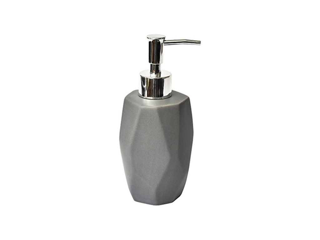 Διανεμητής σαπουνιού Dispenser, Κεραμικό Δοχείο για κρεμοσάπουνο με αντλία σε σχ μπάνιο   αξεσουάρ μπάνιου