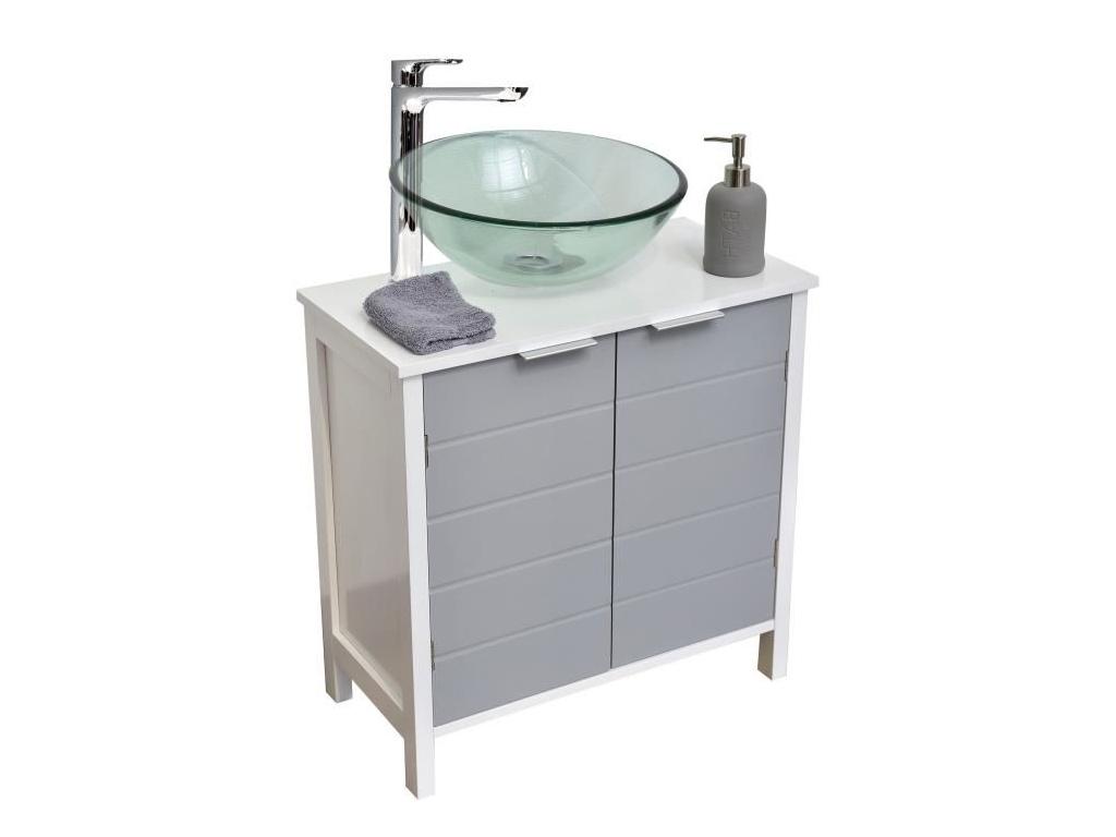 Έπιπλο Μπάνιου, Ντουλάπι Αποθήκευσης MDF για τον νιπτήρα, διαστάσεων 60x30x60cm  μπάνιο   έπιπλα μπάνιου