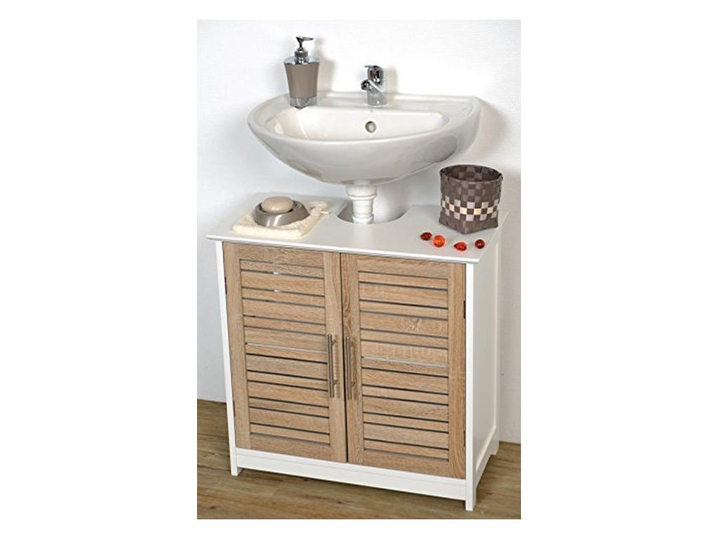 Έπιπλο Μπάνιου, Ντουλάπι Αποθήκευσης MDF για τον νιπτήρα, διαστάσεων 60x30x60cm, μπάνιο   έπιπλα μπάνιου
