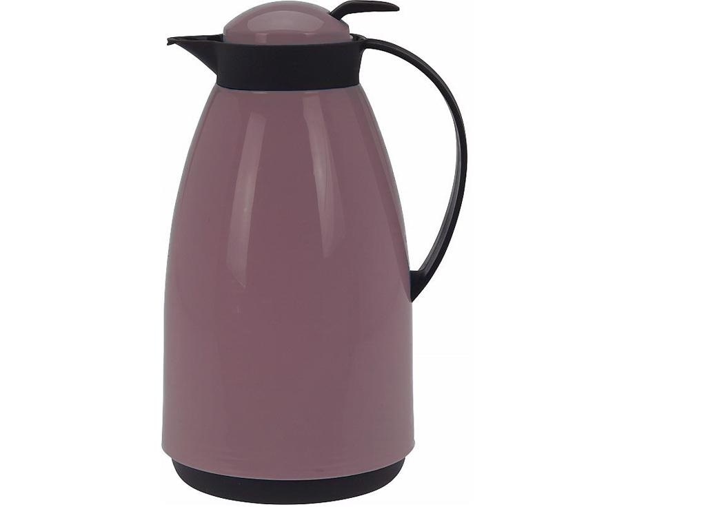 Κανάτα Θερμός Χωρητικότητας 1Lt σε 4 διαφορετικά χρώματα Ροζ - Cb κουζίνα   θερμός και παγούρια